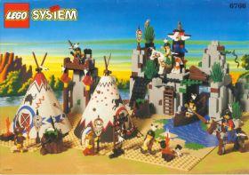 6766 Лего Поселение индейцев