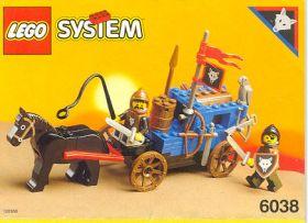 6038 Лего Повозка людей Волка