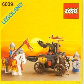 6039 Лего Двойная катапульта