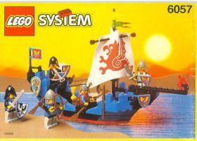 6057 Лего Корабль Морской змей