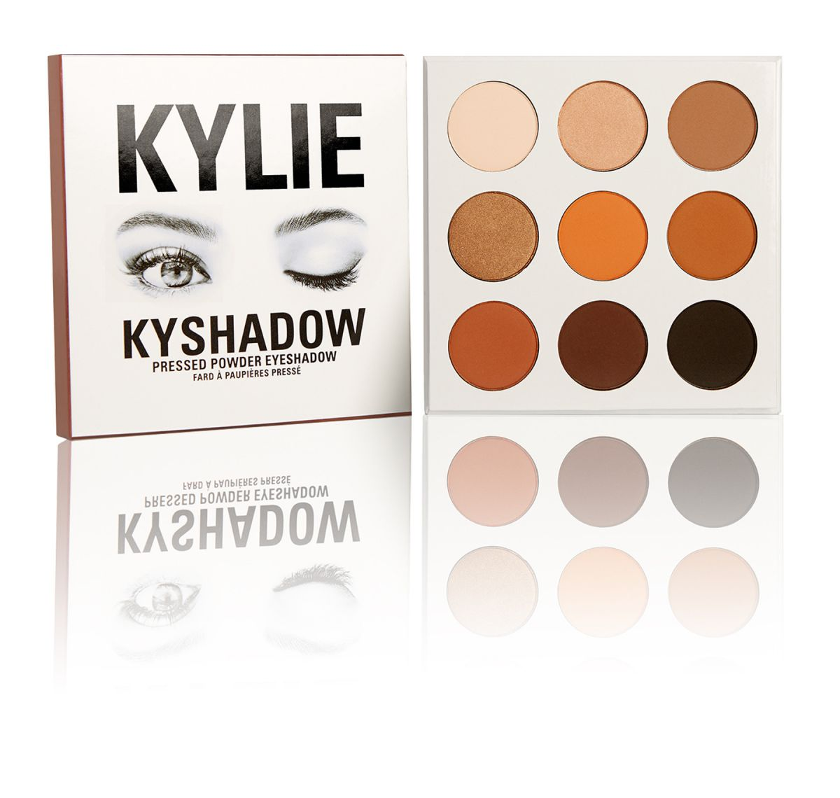 Палетка теней Kylie Cosmetics - THE BRONZE PALETTE | KYSHADOW