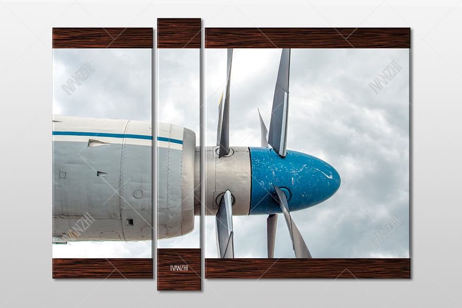 Двигатель самолёта Ан-22 Антей
