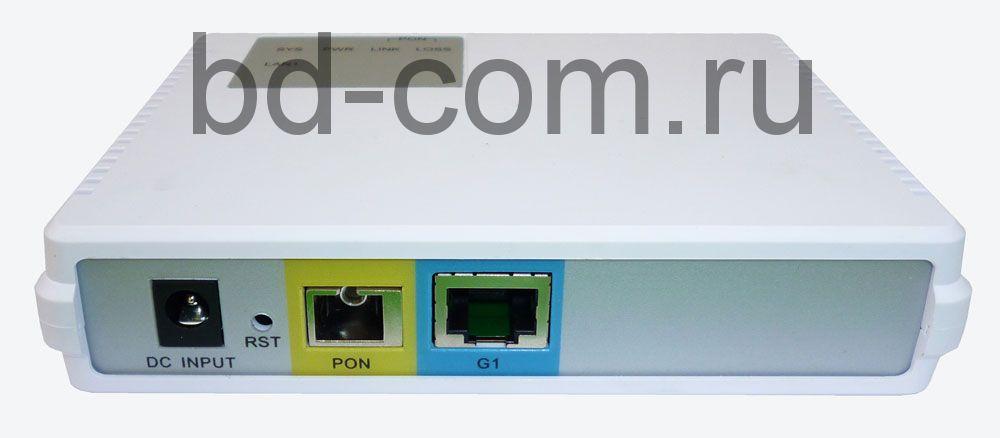 Терминал абонетский (ONU) BDCOM GP1501-1G  (1 порт 10/100/1000)  EOL