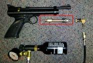 """МАМБА - КИТ для перевода на воздух CROSMAN 2240 Кросман 2240 производство """"RU Guns Lab"""""""