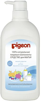 Pigeon Средство для мытья бутылочек и овощей, 800 мл, флакон