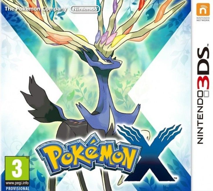 Игра Pokemon X (Nintendo 3DS)