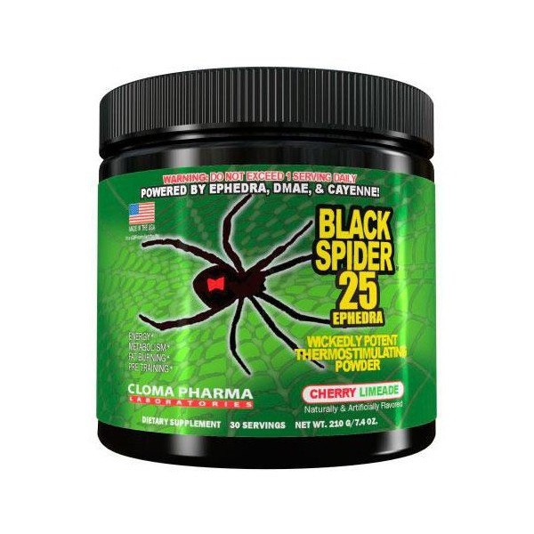 Black Spider 25 (210 gr), CLOMA PHARMA