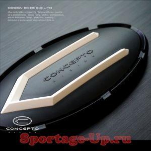 Комплект эмблем на перед и зад Concepto Design для Sporatge4