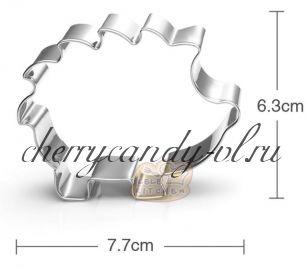 Форма металлическая Еж