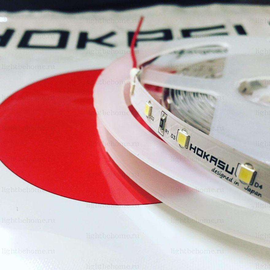 Лента HOKASU 2835 Q60 24V WW (Теплый белый)