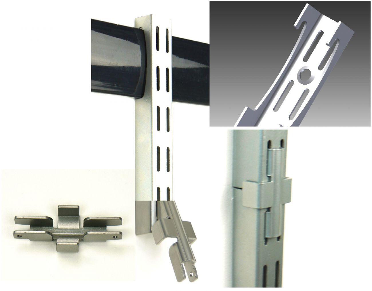 Удлинитель (соединитель) вертикальных монтажных полос- SHVWSJ-1