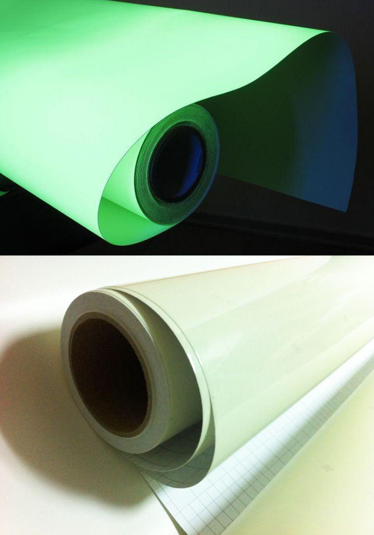 Фотолюминесцентная пленка бумага