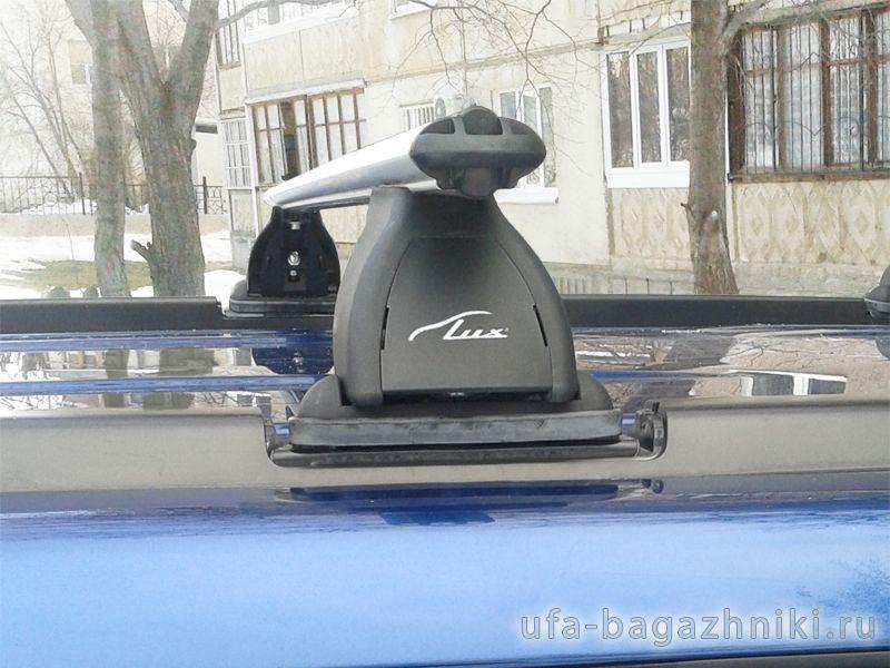 Багажник на крышу Nissan X-Trail (T30,31), Lux, аэродинамические  дуги (53 мм)