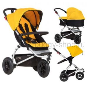 Swift  (Свифт) версия 2017 года, Детская коляска для новорожденного Mountain Buggy Swift EVO 2 в 1