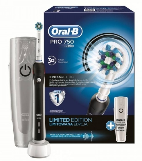 Зубная щетка Oral-B Pro 750 Cross Action