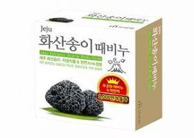 Mukunghwa Jeju Volcanic Scoria Body Soap 85g - Мыло содержит натуральные вулканические частички пепла
