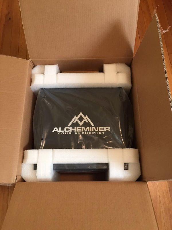 Майнер Alcheminer (256 mhs)