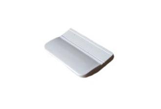 Балконная ручка двери пластик, цвет: белый