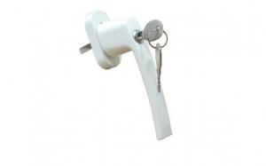 Ручка оконная с ключом (с замком), штифт 35, 40 мм
