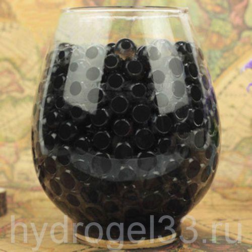 Гидрогель аквагрунт 1 см черный (2000 шт)