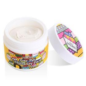 Baviphat Urban Dollkiss Pore Bye White Clay Pack 100ml - Очищающая маска с белой глиной