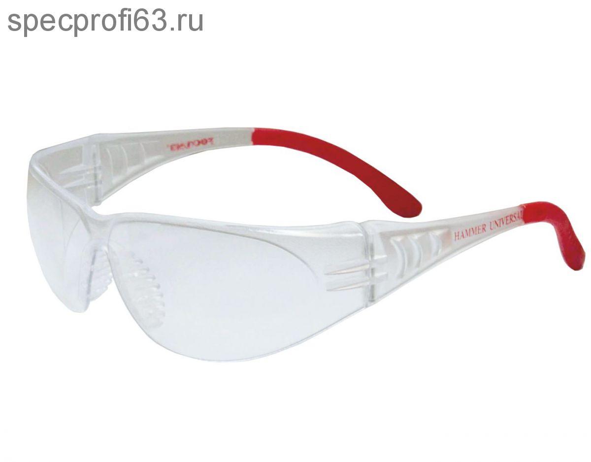 Очки защитные открытые О25 HAMMER UNIVERSAL (PC)