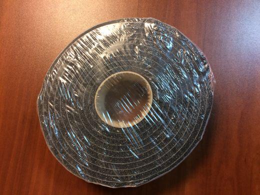 Уплотнитель серый поролоновый 6х8 для москитной сетки