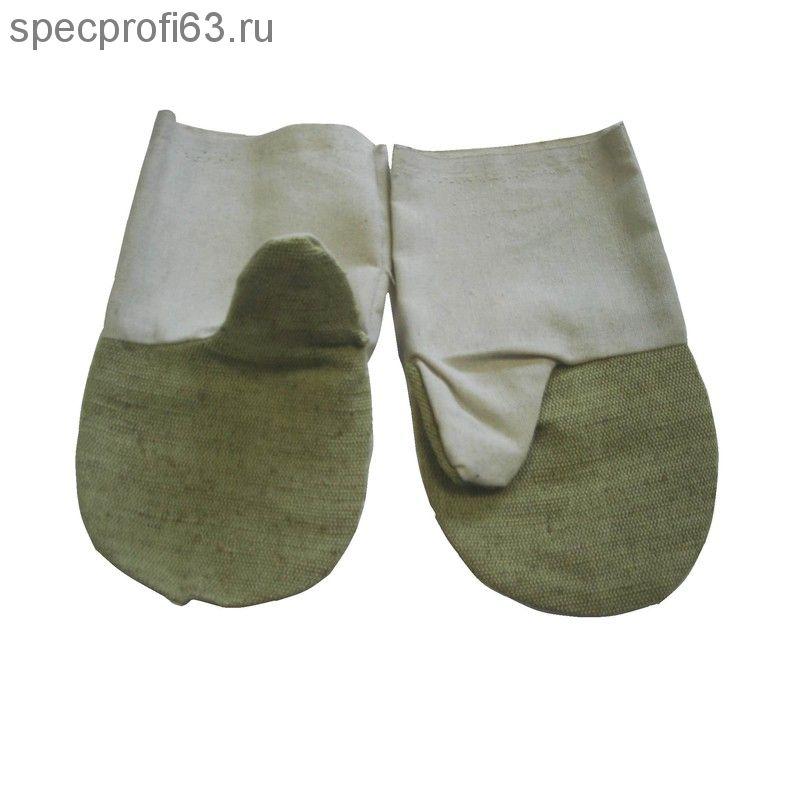 БН-01 Рукавицы брезентовые пл.420 гр