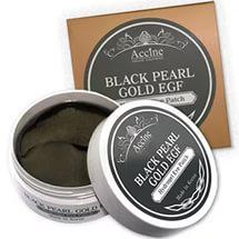 Petitfee Black Pearl Gold Hydrogel Eye Patch 60шт - Гидрогелевые патчи с золотом и черным жемчугом