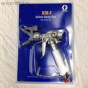 пистолет покрасочный Graco XTR-7
