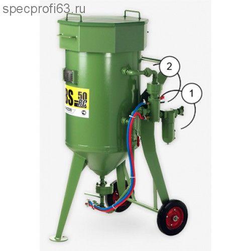 Аппарат пескоструйный CONTRACOR DВS-50 (50кг)