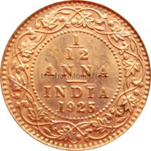 Индия 1/12 анны 1925 г.