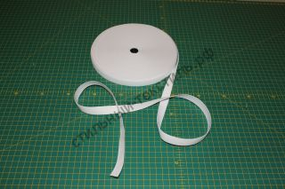 Вязанная резинка (белая) ширина 16мм