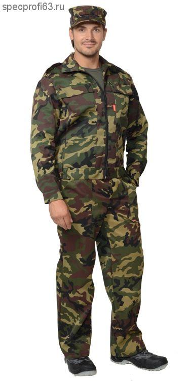 """Костюм """"ВЫМПЕЛ"""": куртка, брюки (тк. смесовая) КМФ"""