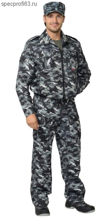 """Костюм """"ФРЕГАТ"""" для охранника: куртка, брюки КМФ"""