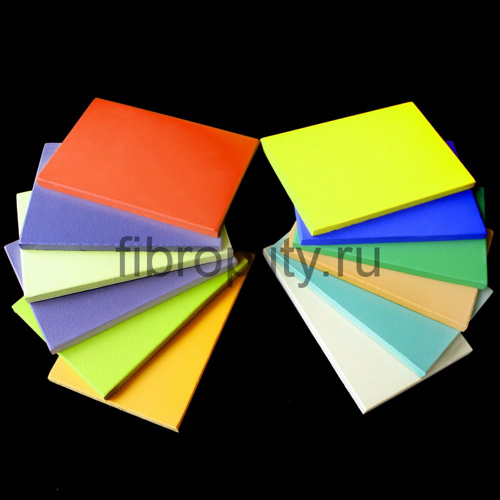 Фиброцементные панели и плиты гладкоокрашенные от производителя