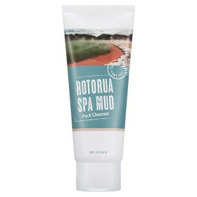 MISSHA Rotorua Spa Mud Pack Cleanser 100g - Очищающая маска- пенка с целебной грязью Роторуа