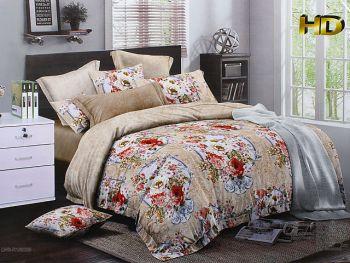 Комплект постельного белья 3 D ( евро)EO157