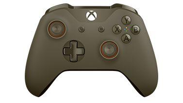 Microsoft  Xbox One S Wireless Controller Green/Orange (for windows)