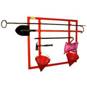 Щит пожарный, металлический, открытого типа, сборный, н/укомпл.