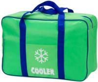 Изотермическая термосумка Cooler 20 литров зелёная