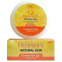 Deoproce Natural Skin Coenzyme Q10 Nourishing Cream 100ml - Питательный крем для лица и тела с коэнзимом Q10.