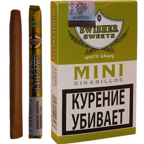 Сигариллы Swisher Sweets White Grape Mini Cigarillos