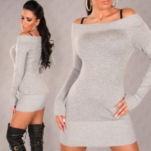 Платье/Джемпер с открытыми плечами