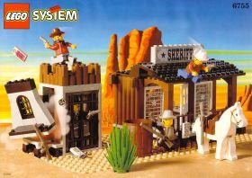 6755 Лего Офис шерифа и тюрьма