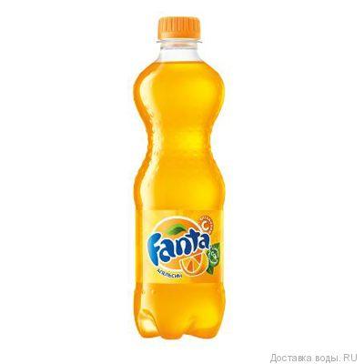 Напиток Fanta газированный 0.5 л | Купить Fanta в упаковке 24шт.