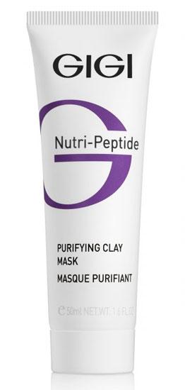 Пептидная очищающая глиняная маска для жирной кожи NUTRI-PEPTIDE Purifying Clay Mask Oily Skin