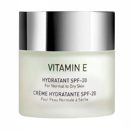 Увлажняющий крем для нормальной и сухой кожи SPF 20 - VITAMIN E Hydratant SPF 20 for normal to dry skin