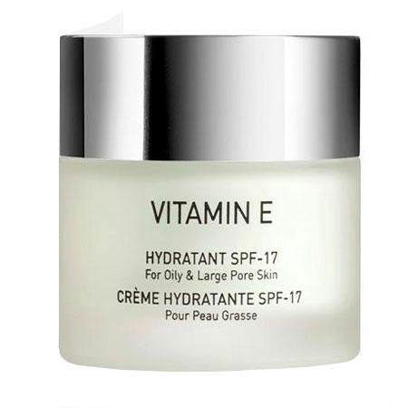 Увлажняющий крем для комбинированной и жирной кожи SPF 17 - VITAMIN E Hydratant SPF 17 for oily & large pore skin