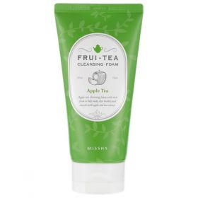 Missha Frui-tea Cleansing Foam Apple Tea 150ml - Очищающая пенка